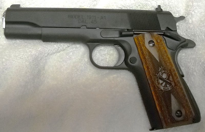 Eyrie Productions, Unlimited - Gun of the Week: M1911A1
