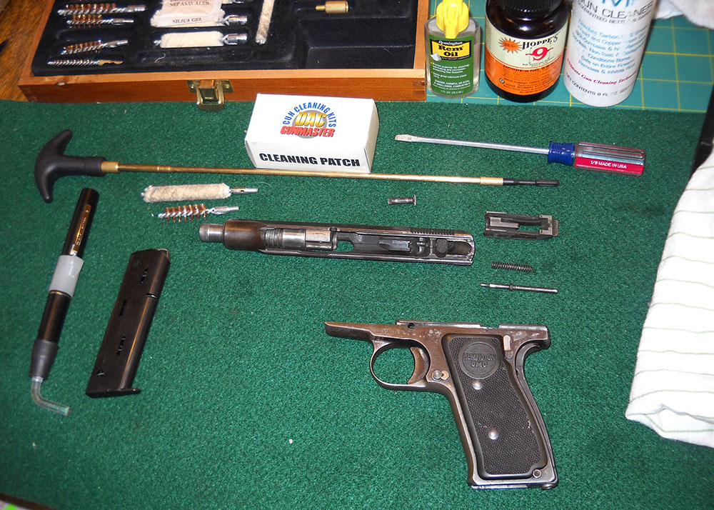 Remington Model 51, disassembled